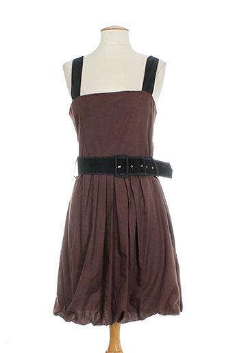 bhatti robes femme de couleur marron
