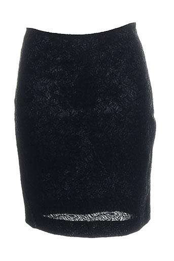 Jupe courte noir ENTRACTE pour femme
