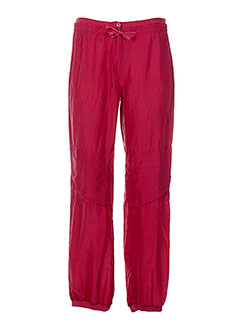 Pantalon casual rouge ERNEST pour femme