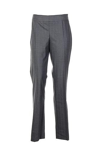 lola pantalons femme de couleur gris