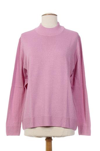 finette pulls femme de couleur rose