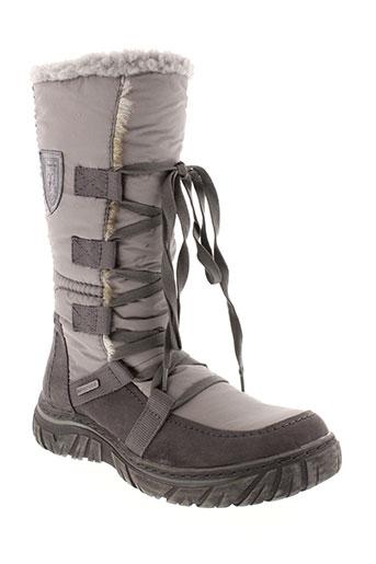 tamaris bottes femme de couleur gris