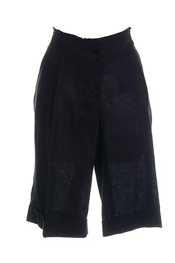 pier bé shorts / bermudas femme de couleur noir