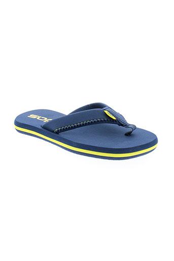 adidas tongs garcon de couleur bleu