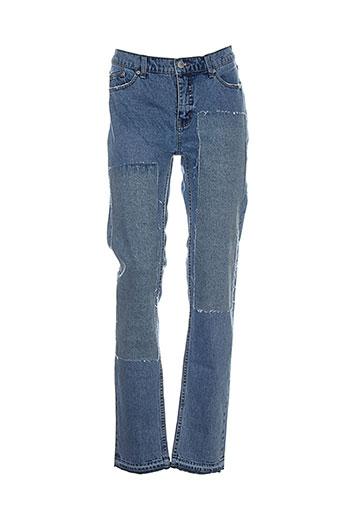 cheap monday jeans homme de couleur bleu