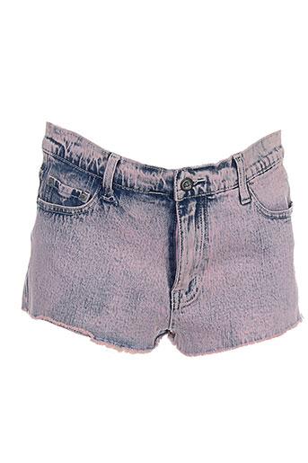 cheap et monday shorts et 1 femme de couleur rose