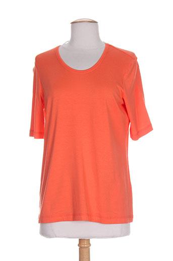 erfo t-shirts femme de couleur orange