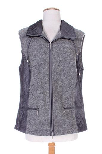 erfo vestes femme de couleur gris