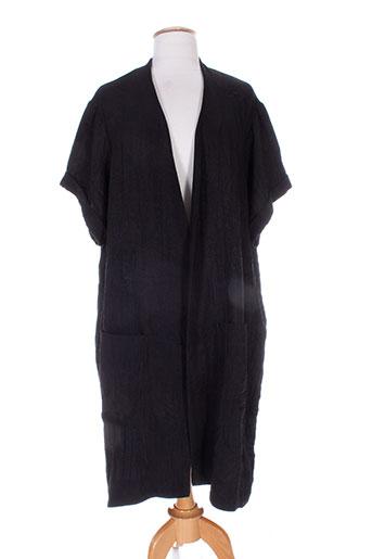 jean marc philippe gilets femme de couleur noir