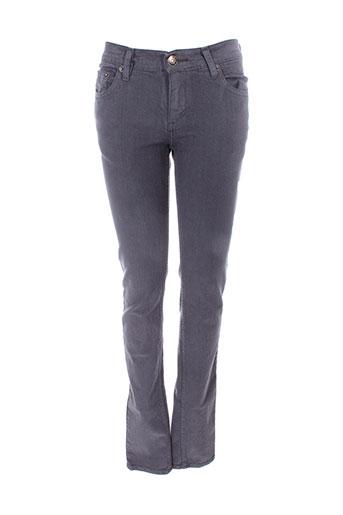 jon et kafe pantalons et decontractes femme de couleur gris