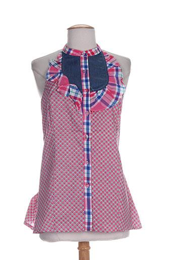 zoe la fee chemises femme de couleur rose