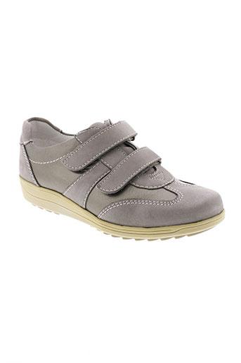 ara baskets femme de couleur gris