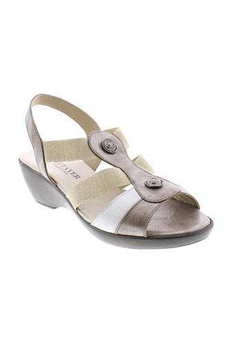 j et metayer sandales et nu et pieds femme de couleur beige