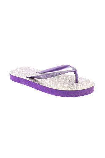 laulina chaussures fille de couleur violet