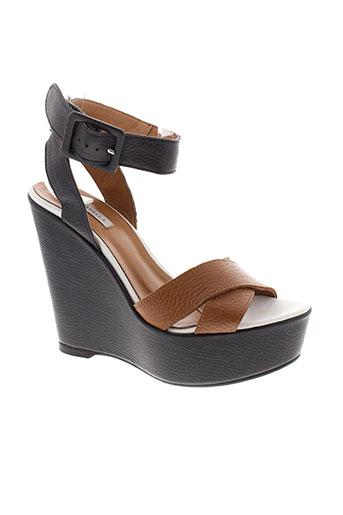 marella chaussures femme de couleur marron