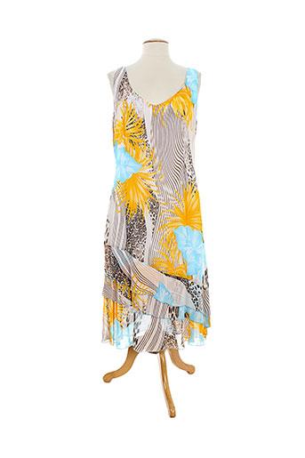 elliott robes femme de couleur jaune