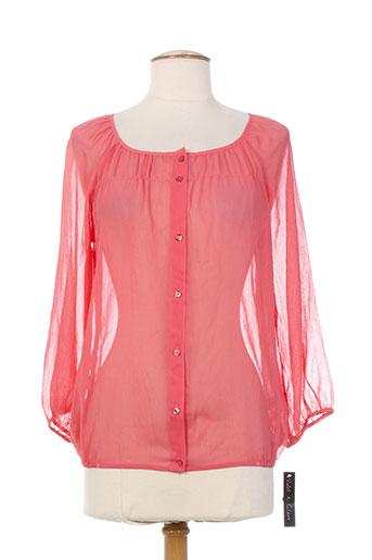 violet EFFI_CHAR_1 claire chemises femme de couleur rose