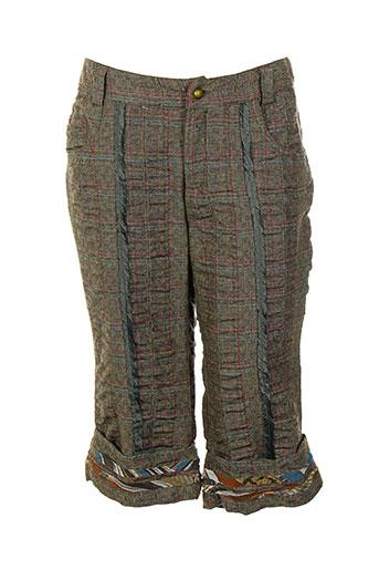 legatte shorts / bermudas femme de couleur vert