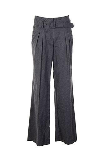 bandolera pantalons et decontractes femme de couleur gris