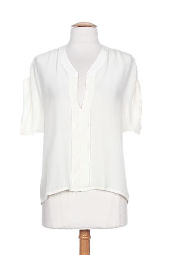 toupy chemises femme de couleur blanc