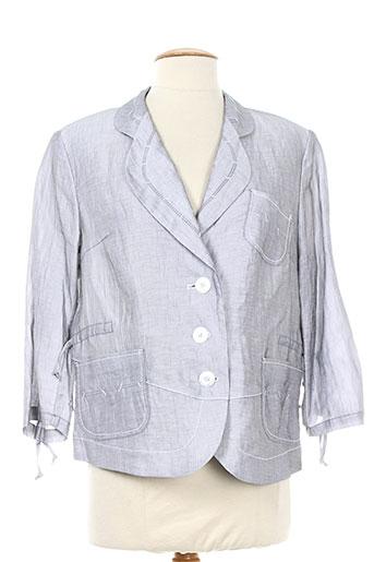 kirsten vestes femme de couleur gris