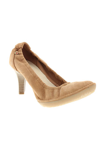 buggy chaussures femme de couleur marron