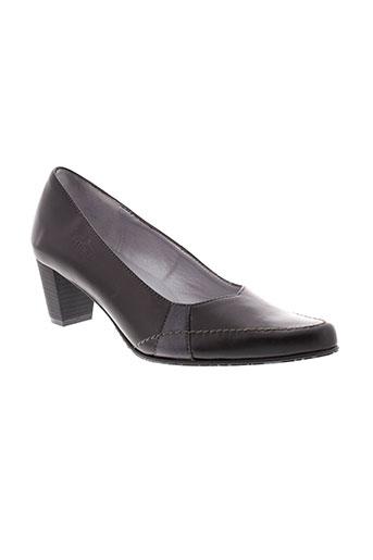 artika et soft escarpins femme de couleur noir