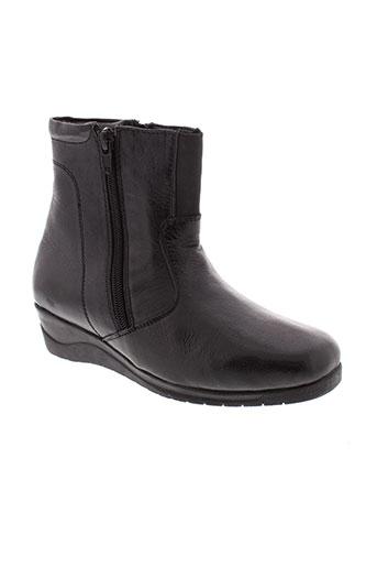 altex boots femme de couleur noir