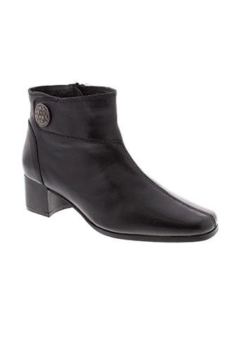 bel et canto boots unisexe de couleur noir