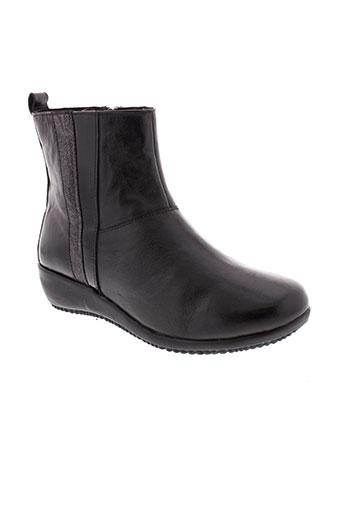 bel et canto boots femme de couleur noir