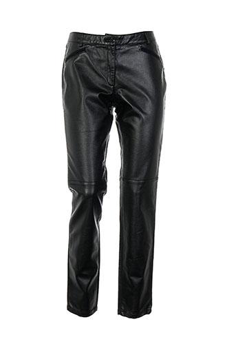 jocavi pantalons femme de couleur noir