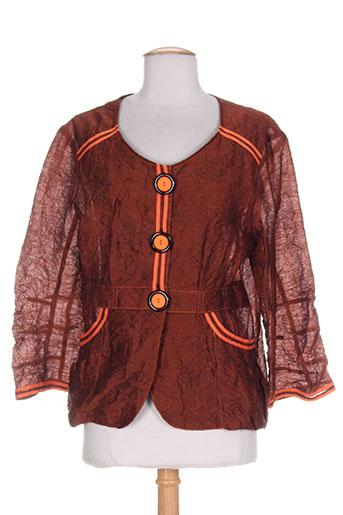quattro vestes femme de couleur marron