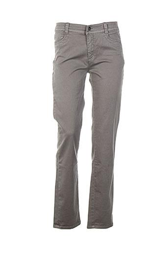 jensen pantalons et decontractes femme de couleur gris