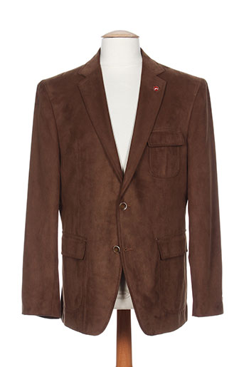atelier torino vestes homme de couleur marron
