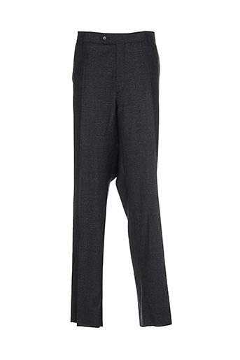 atelier torino pantalons homme de couleur gris