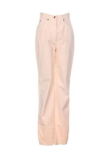 apriori pantalons et decontractes femme de couleur rose