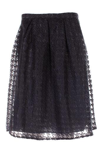 mademoiselle.r jupes femme de couleur noir