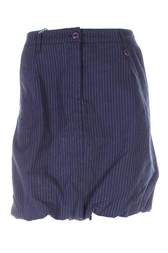 1060 et clothes jupes et courtes femme de couleur bleu (photo)