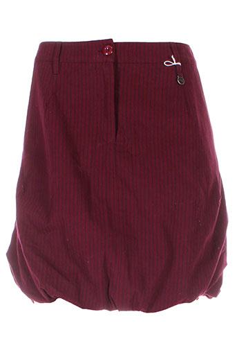 1060 et clothes jupes et courtes femme de couleur rouge (photo)
