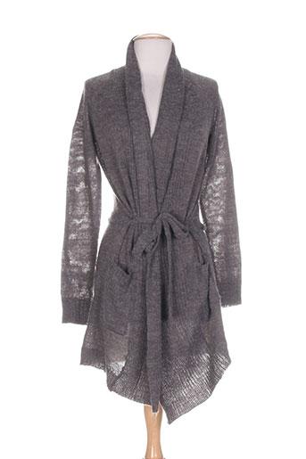 fransa vestes femme de couleur gris