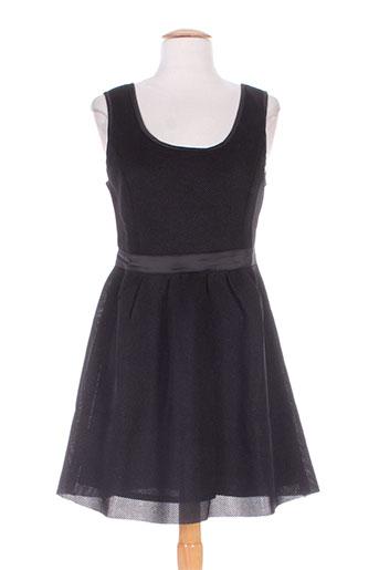 just addict robes femme de couleur noir