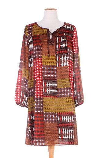 my collection tuniques femme de couleur marron