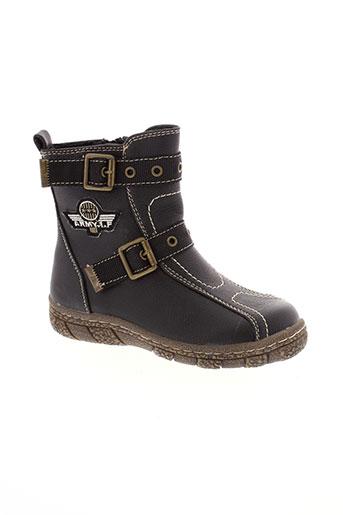 flower et girl boots fille de couleur noir