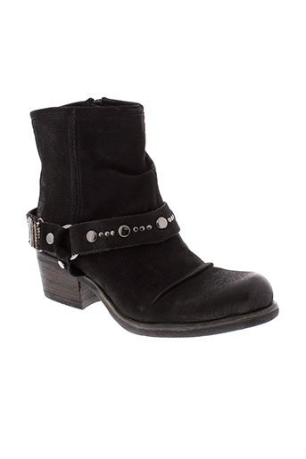 metamorf et ose boots femme de couleur noir