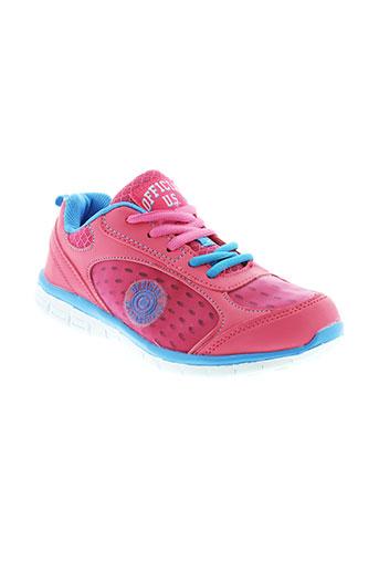 u et s et marshall baskets femme de couleur rose