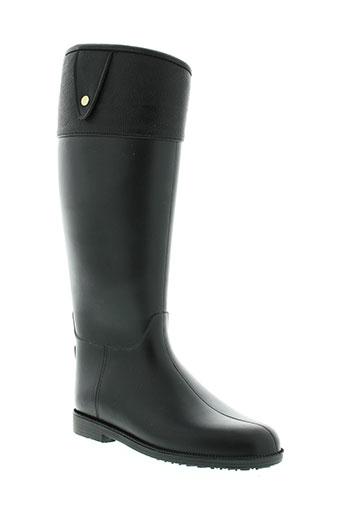kelara bottes femme de couleur noir