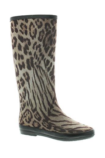 kelara bottes femme de couleur marron