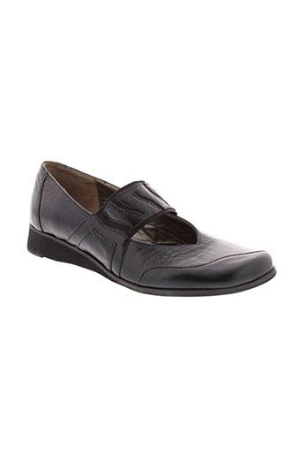 essentiels chaussures femme de couleur noir