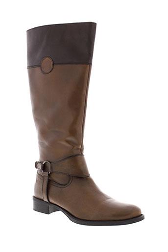 elite bottes femme de couleur marron