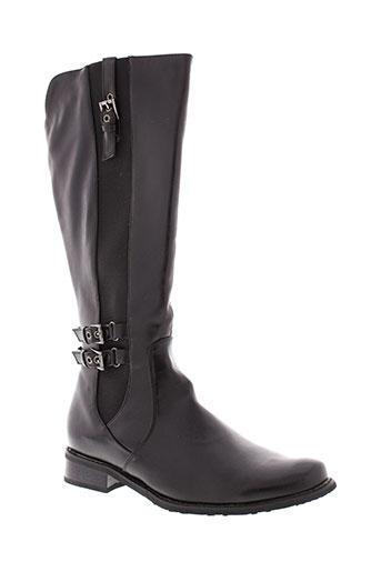 toscania bottes femme de couleur noir